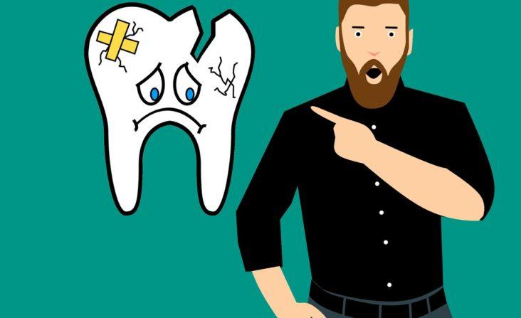 fix broken teeth